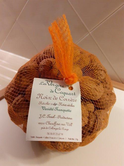 """Walnuts in shell PDO """"Périgord walnuts"""" 1kg"""