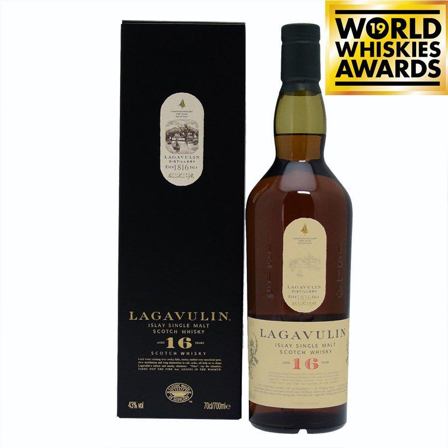 Islay Single Malt Scotch Whiskey 16 years old lagavulin 70 cl