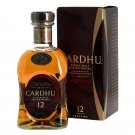 Single Malt Scotch Whiskey 12 years old cardhu 70 cl