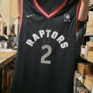 Leonard #2  Toronto Raptors Size 52 Jersey Men's XL