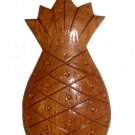 Hawaiian Hand Made Hardwood Pineapple Key Ring