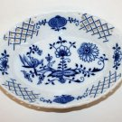 Zwiebelmuster Blue Onion Fine China Porcelain Pierced Oval Serving Bowl Czech 7""
