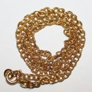 "4.380 Grams 14K Yellow Gold 16"" Chain Stamped Italy Italian Scrap or Not"