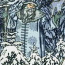 Father Frost Christmas Cross Stitch Chart PDF