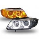 HID LED angel eye 3 Series E90 headlight