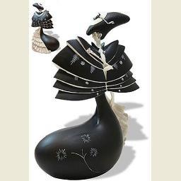 Black Cape Statue (Oscar Wilde's Salome) by Aubrey Beardsley
