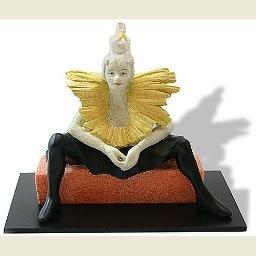La Clownesse Seated Toulouse- Lautrec