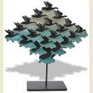 Fish Bird Sky Tessellation by Escher