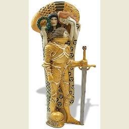 The Knight (1902) by Gustav Klimt