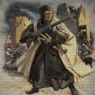 Desert war scene DMC cross stitch pattern in pdf DMC