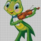 Grasshopper DMC cross stitch pattern in pdf DMC