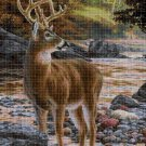 Deer DMC cross stitch pattern in pdf DMC