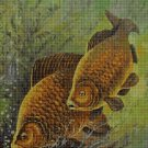Fishes DMC cross stitch pattern in pdf DMC