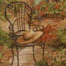 In the garden DMC cross stitch pattern in pdf DMC