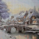 Winter DMC cross stitch pattern in pdf DMC