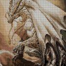 Dragon DMC cross stitch pattern in pdf DMC