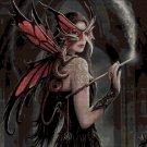 Fairy and dragon DMC cross stitch pattern in pdf DMC