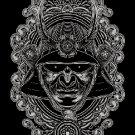 Samurai helmet DMC cross stitch pattern in pdf DMC