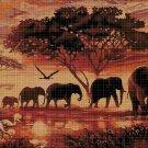 Africa DMC cross stitch pattern in pdf DMC