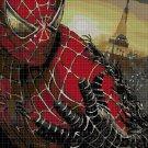 Spiderman 2 DMC cross stitch pattern in pdf DMC