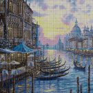 Venice 2 DMC cross stitch pattern in pdf DMC