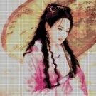 China Girl2 DMC cross stitch pattern in pdf DMC