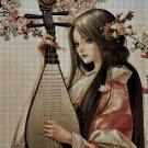 China Girl3 DMC cross stitch pattern in pdf DMC