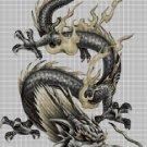 Chinese dragon2 DMC cross stitch pattern in pdf DMC