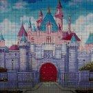 Fairytale castle DMC cross stitch pattern in pdf DMC