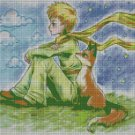The little Prince DMC cross stitch pattern in pdf DMC