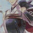 Anime boy DMC cross stitch pattern in pdf DMC