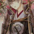 Anime boy 2 DMC cross stitch pattern in pdf DMC