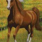 Horse DMC cross stitch pattern in pdf DMC