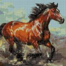 Horse 2 DMC cross stitch pattern in pdf DMC