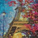 Paris DMC cross stitch pattern in pdf DMC