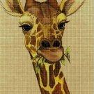 Giraffe2 DMC cross stitch pattern in pdf DMC