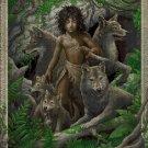 Mowgli DMC cross stitch pattern in pdf DMC