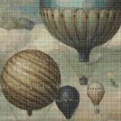Ballons DMC cross stitch pattern in pdf DMC