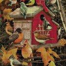 Birds 2 DMC cross stitch pattern in pdf DMC
