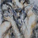Love and kiss DMC cross stitch pattern in pdf DMC