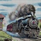 Train DMC cross stitch pattern in pdf DMC