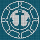 Anchor 3 silhouette cross stitch pattern in pdf