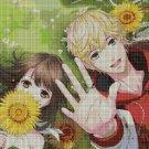 Anime lovers 7 DMC cross stitch pattern in pdf DMC