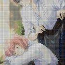 Anime lovers 10 DMC cross stitch pattern in pdf DMC