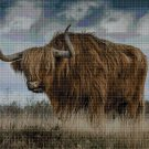 Bison DMC cross stitch pattern in pdf DMC