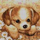 Little dog DMC cross stitch pattern in pdf DMC