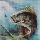 Fish DMC cross stitch pattern in pdf DMC