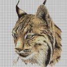 Lynx DMC cross stitch pattern in pdf DMC