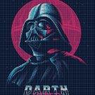 3 Darth Vader cross stitch pattern in pdf DMC