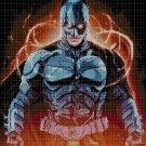 Batman2 cross stitch pattern in pdf DMC